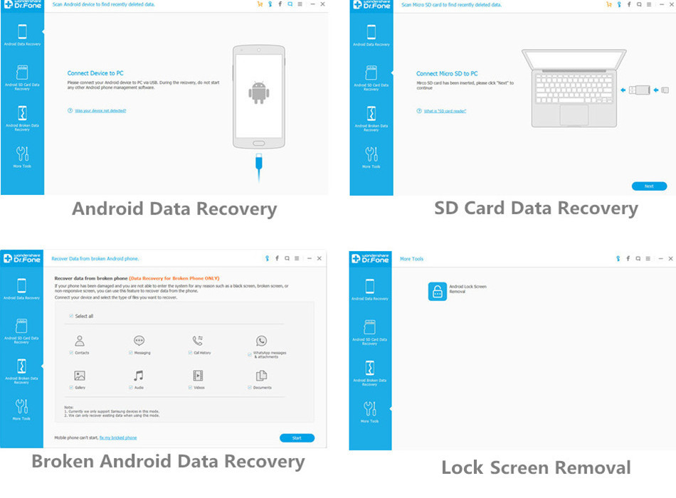 Apowersoft data recovery for android